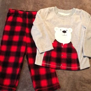 Other - Two pairs of fleece toddler pajamas